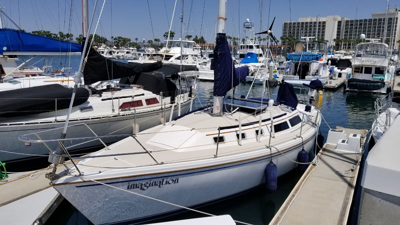 Sail San Diego - Pacifica Sailing Charters - Sailboat Charters san diego