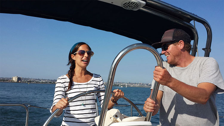 pacifica sailing charters and boat charters team building